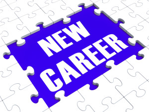 New Career Puzzle Showing Future Employment Or Occupation